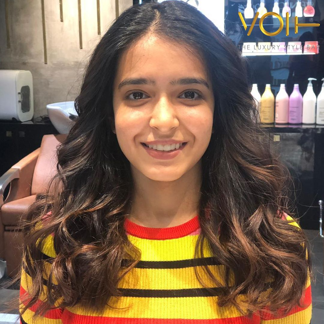 Happy Client Hair smoothening, Cool hairstyles, Best