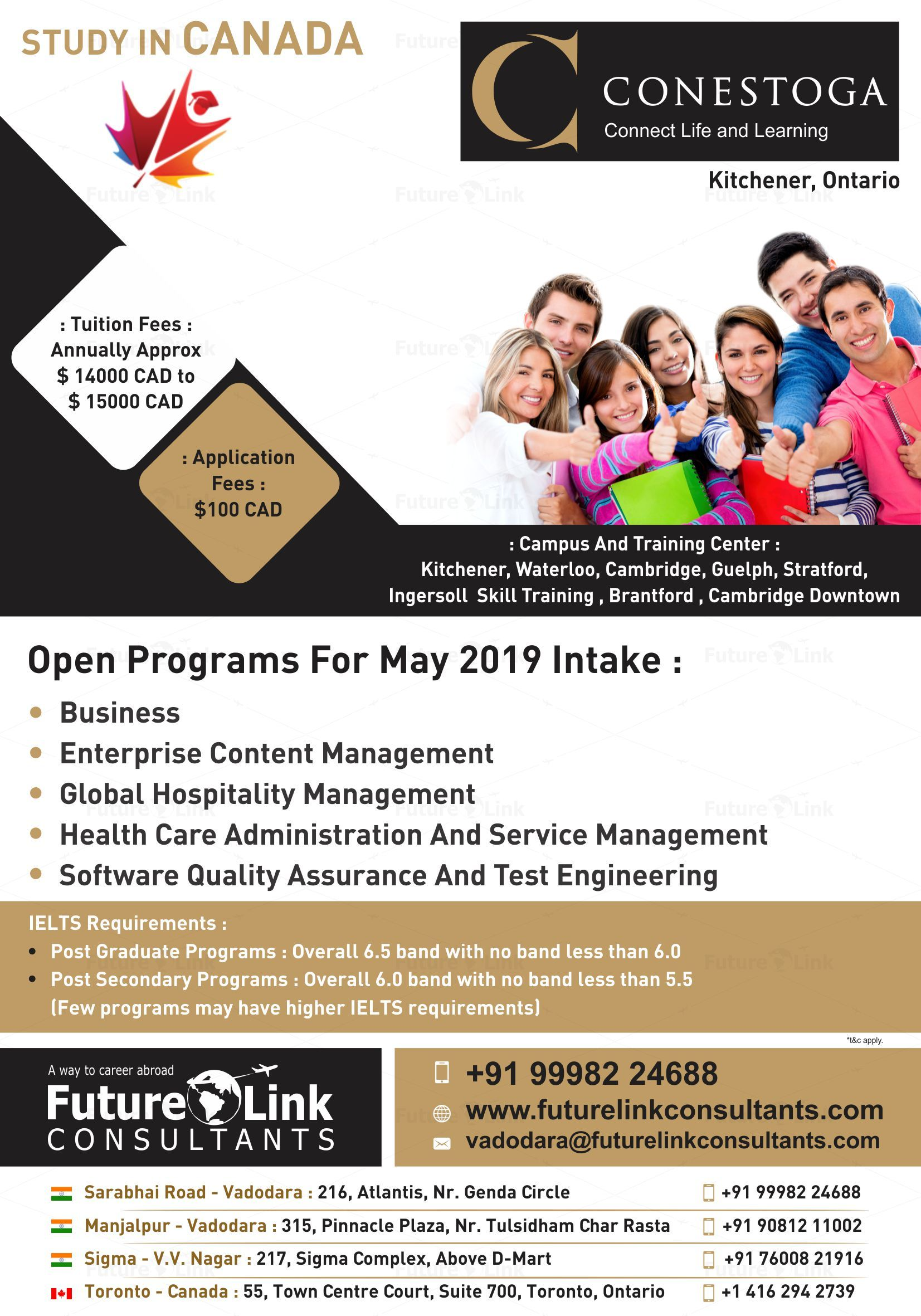Build Your Career In Canada By Studying In Conestoga College Kitchener Ontario Canada Study Program Canada Enterprise Content Management