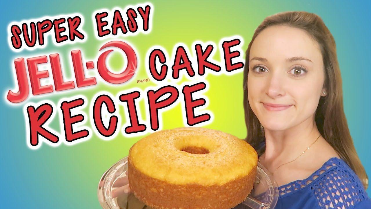 Super Easy Jello Pound Cake Recipe Jello Cake Recipes Jello Recipes Pound Cake Recipes