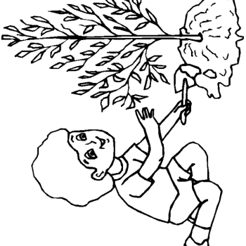 Save Th Earth On Day Coloring Page