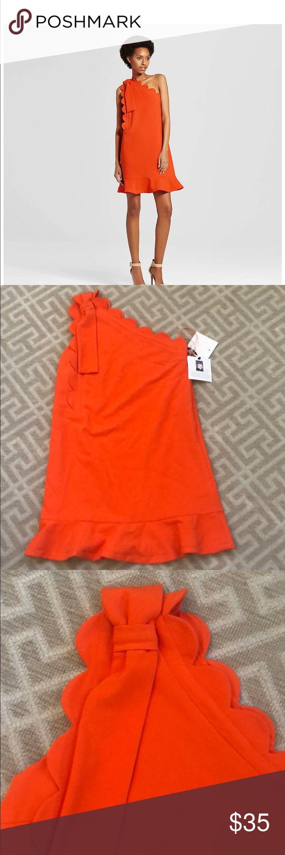 Nwt Victoria Bekham For Target Orange Dress Orange Dress Clothes Design Victoria Beckham Target [ 1740 x 580 Pixel ]