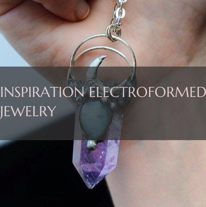 Photo of Inspiration pour les bijoux électroformés ~ Inspiration pour les bijoux électroformés …