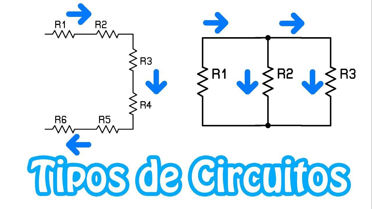 Tipos De Circuitos Serie Y Paralelo Teoria Basica 1 Youtube Math R5
