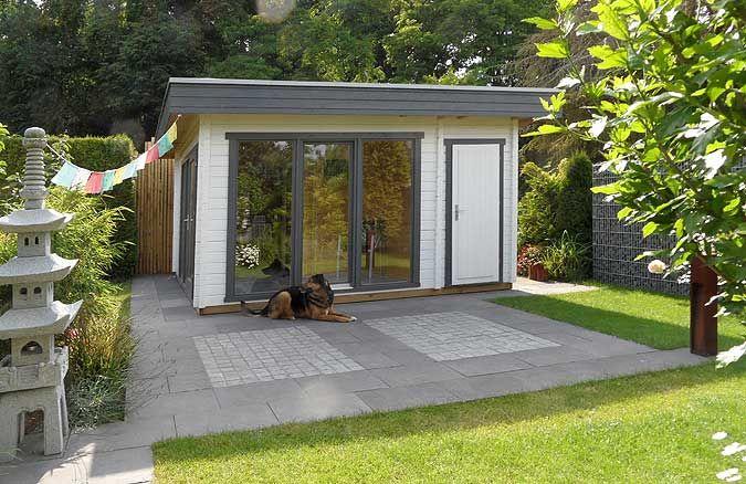 Alles In Einem Gartenhaus Sauna Und Geratehaus Gartenhaus Mit Sauna Gartenhaus Saunahaus Garten