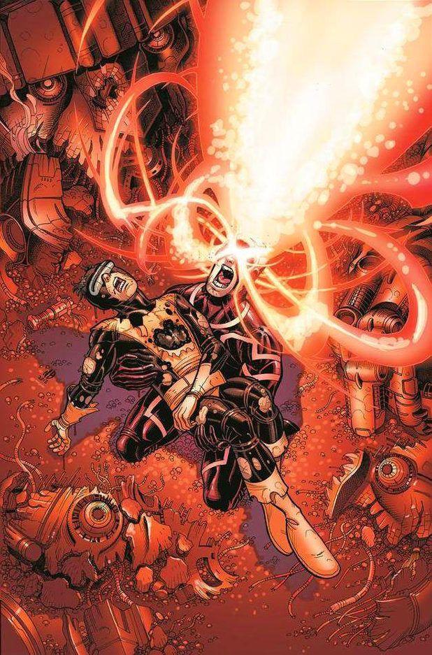 Variant cover for X-Men: Battle of the Atom