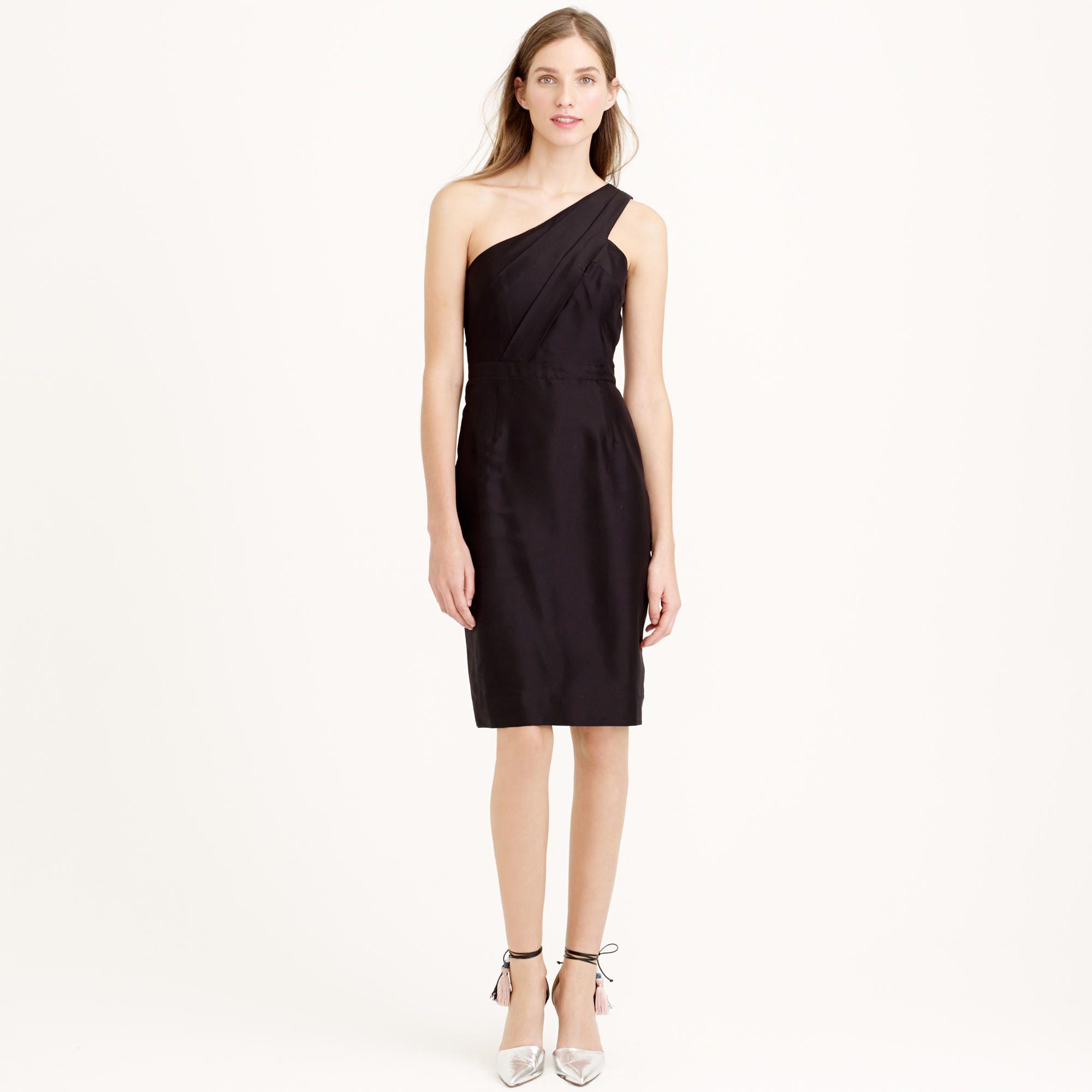 Cassie dress in slub silk : Bridesmaid | J.Crew