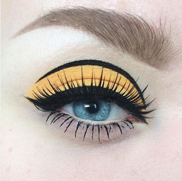 Get *out* of the habit of drawing that cat eye every day.
