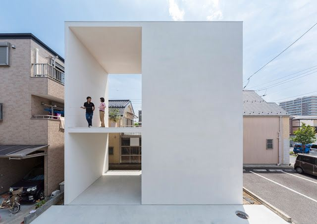 U201cTakuro Yamamoto Architects Make Perfect Use Of Limited Space In Its Latest  Project, Appropriately Named U201cLittle House With A Big Terraceu201d.