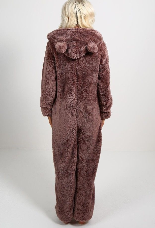 dba57116673 This fluffy onesie, perfect for hibernating. | 24 Of The Cosiest Things On  The Planet