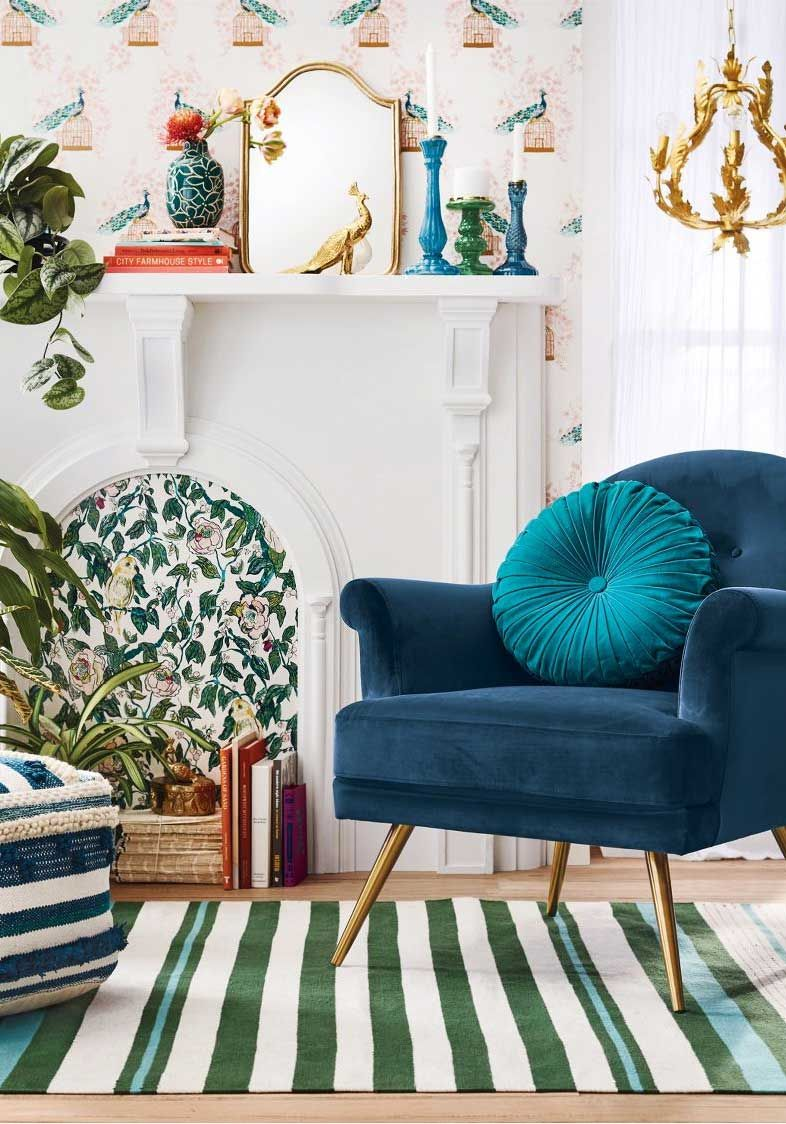 Eclectic home decor from opalhouse armchairs living rooms and room