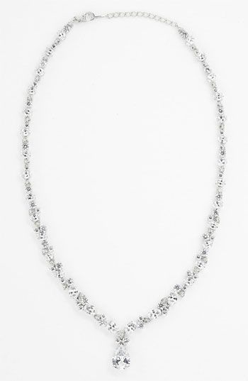 Nadri Teardrop Pendant Necklace Nordstrom Exclusive available at