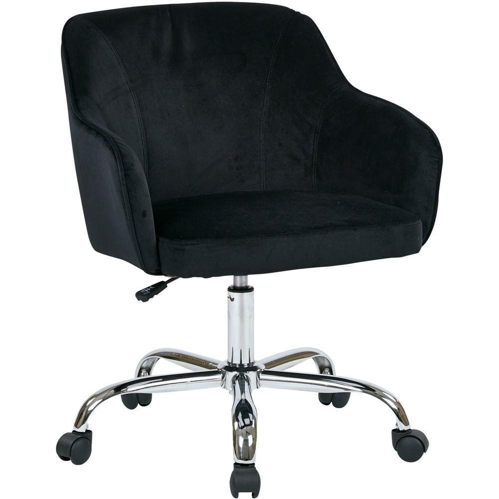Avesix bristol home plush fabric task chair velvet