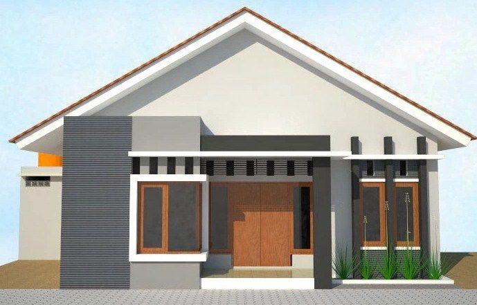 Model Rumah Sederhana Di Desa Jpg 689 441 Rumah Minimalis Desain Rumah Rumah Modern