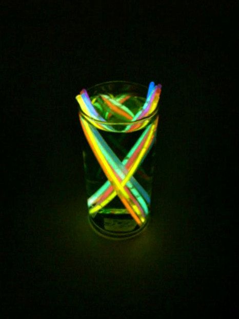 Neon Centerpiece Glowing Wedding Party Decoration Reception Table