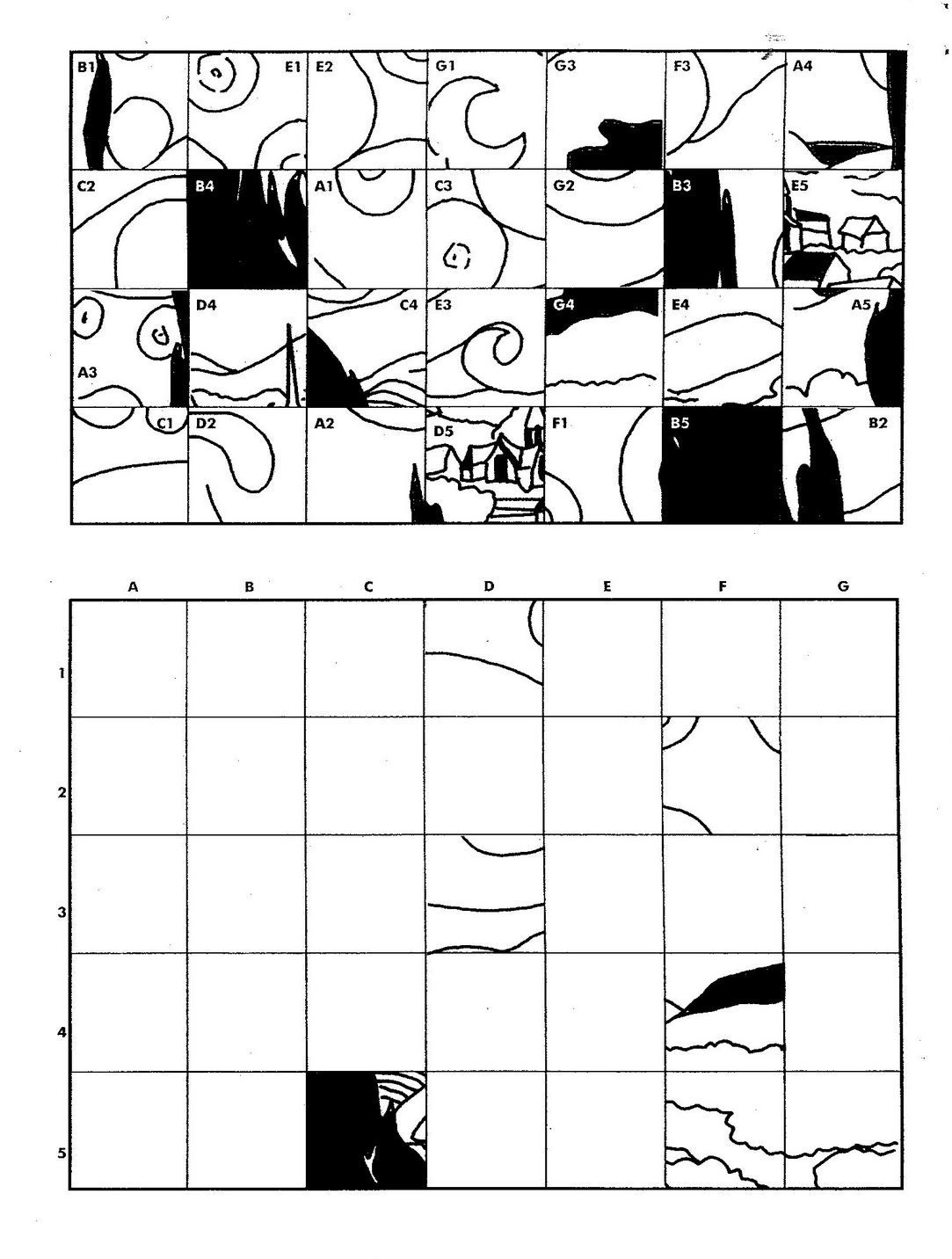 Practice Drawing Grid Worksheet