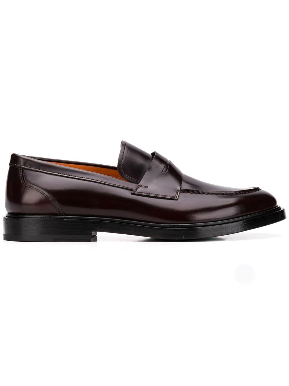 ec05c1943d7 SANTONI SANTONI CLASSIC PENNY LOAFERS - BROWN.  santoni  shoes ...