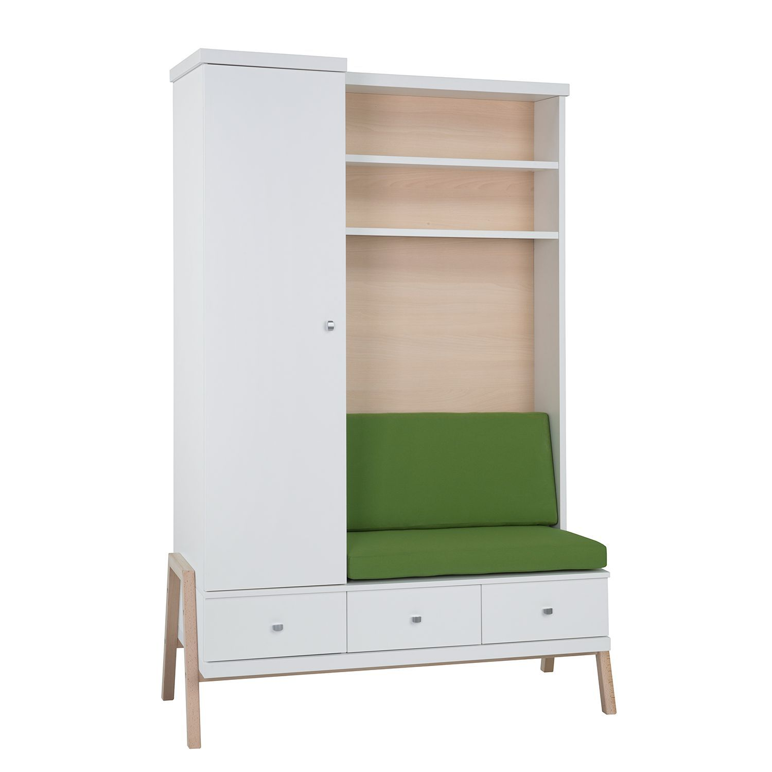 Schrank mit Wickelkommode Holly Wickelkommode