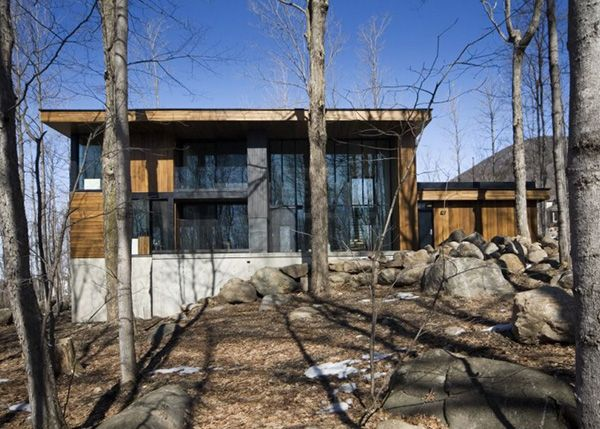 Mountain Chalet Plan Quebec Canada 8 Jpg Architecture Exterior Mountain House Plans Architecture