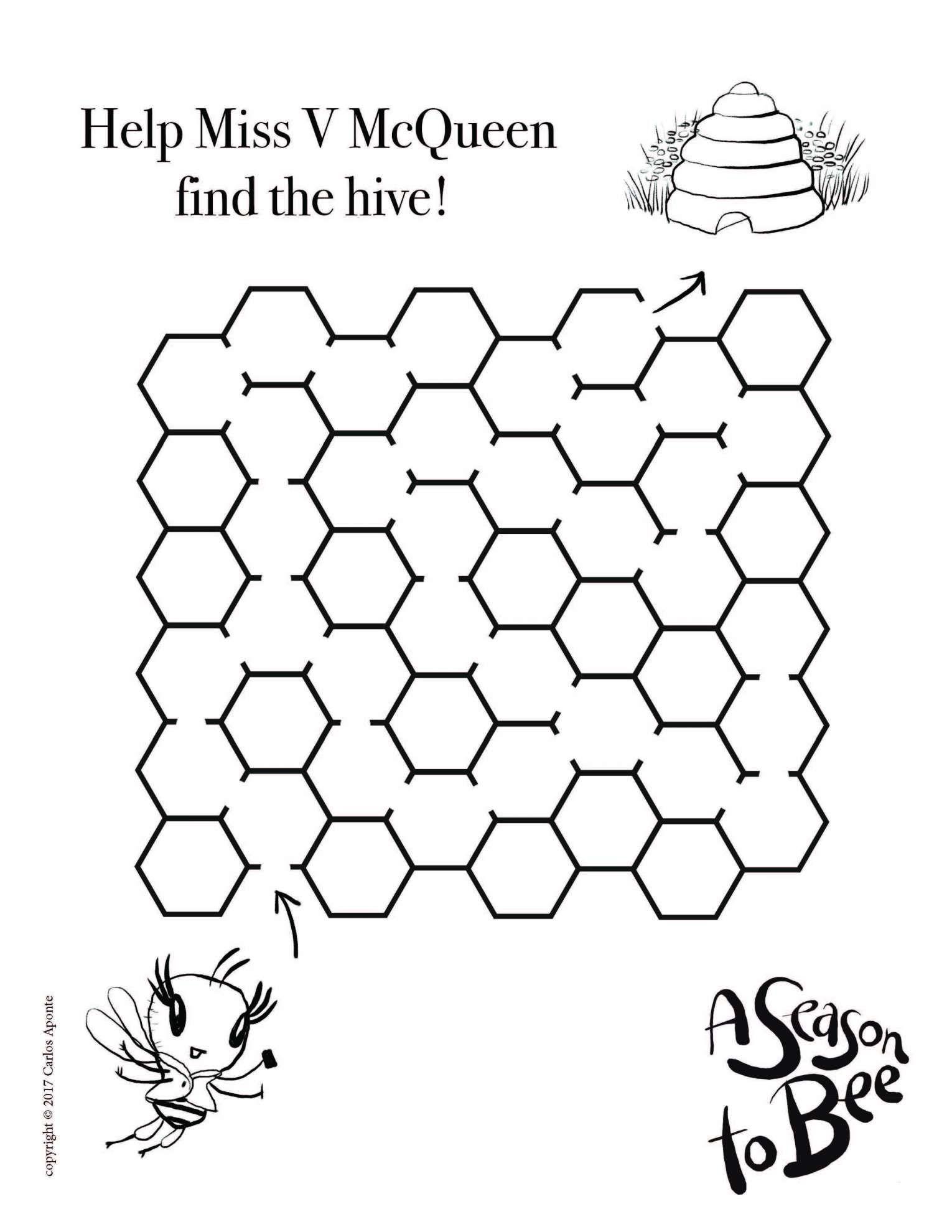 15 Bee Worksheet For Kindergarten