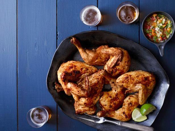 Serrano Chile Rubbed Roast Chicken Recipe Food Network Recipes