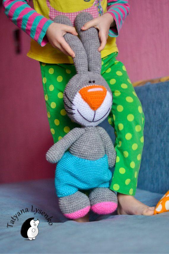 Crochet PATTERN Easter Bunny | Osterhase, Muster und Häkeln