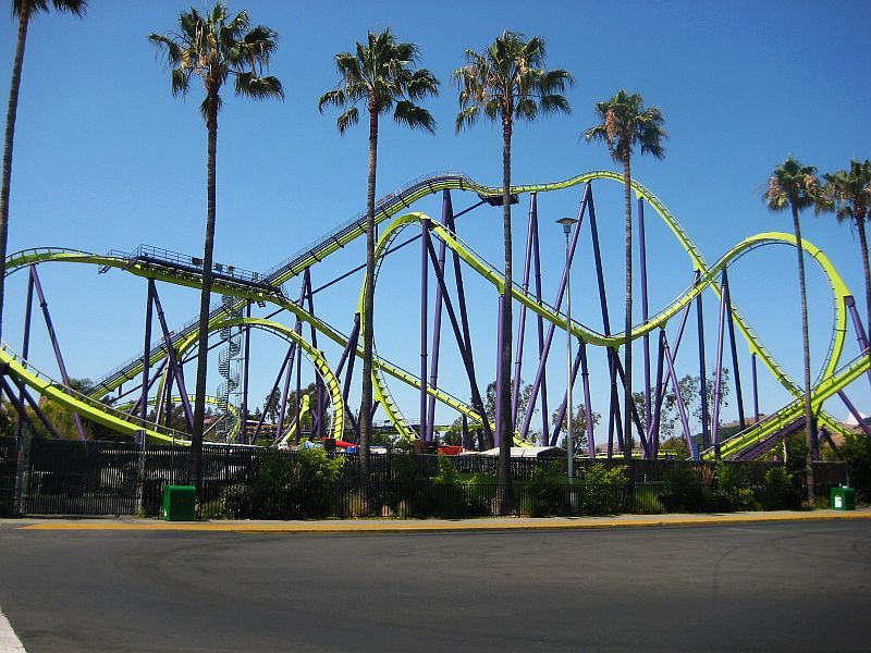 Medusa Six Flags Discovery Kingdom Vallejo California