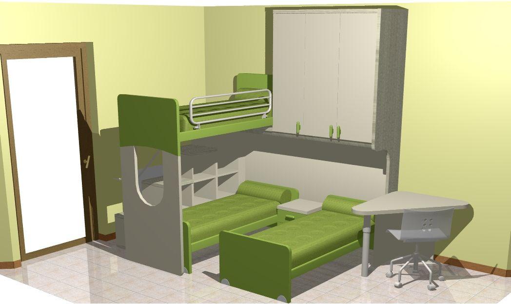 Progetti di camerette architetto on line in 2019 home for Architetto on line