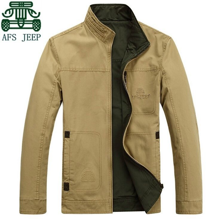 8ff48d91eea afs jeep 2015 Two sided mans fall jackets