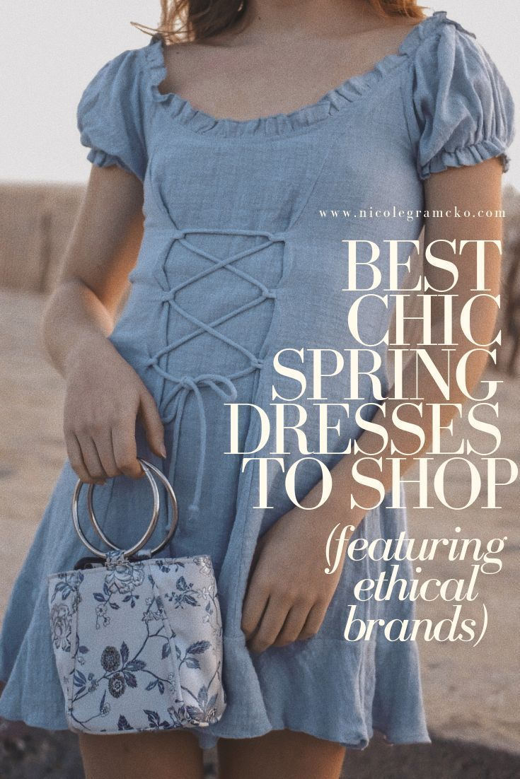526c59ddb2 18 spring dresses to shop now for spring 2019 (featuring ethical brands)!  All