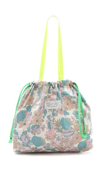 Great size, affordable with a lovely pattern. Score. Marc by Marc Jacobs Spot Drew Blossom Drawstring Tote