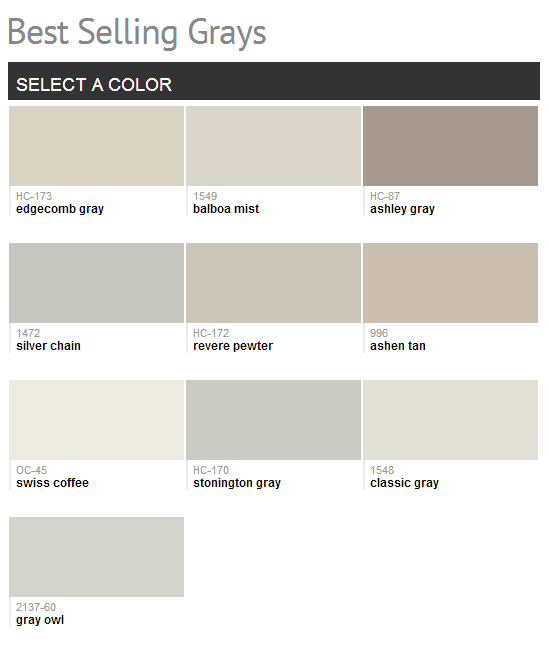 Benjamin moore best selling grays color paint - Benjamin moore gray mist exterior ...