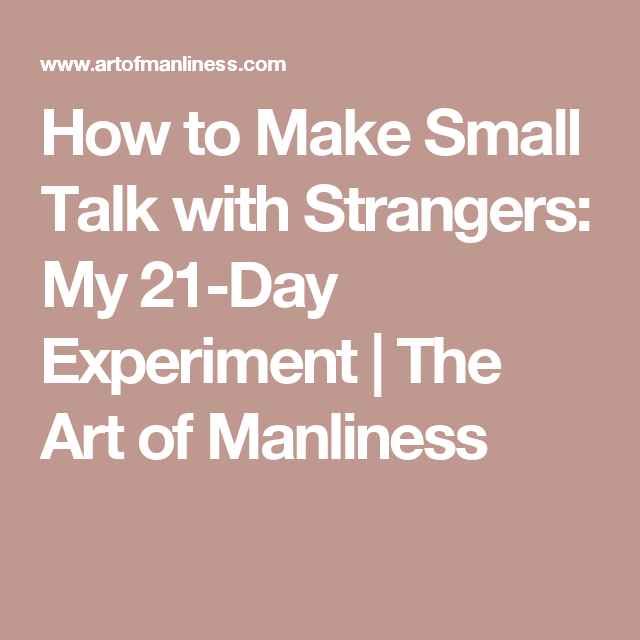 Small talk topics for dating