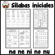 Letra N Silabas Na Ne Ni No Nu Libro De Fonemas Letra N Silabas