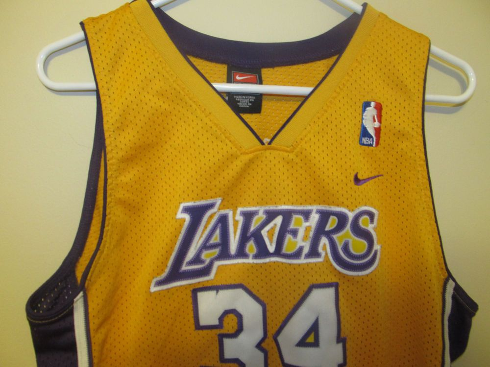 Shaquille O Neal - Los Angeles Lakers jersey - Nike Youth Large  Nike   LosAngelesLakers 695a7e703