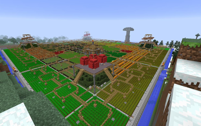 как в майнкрафте сделать ферму #8