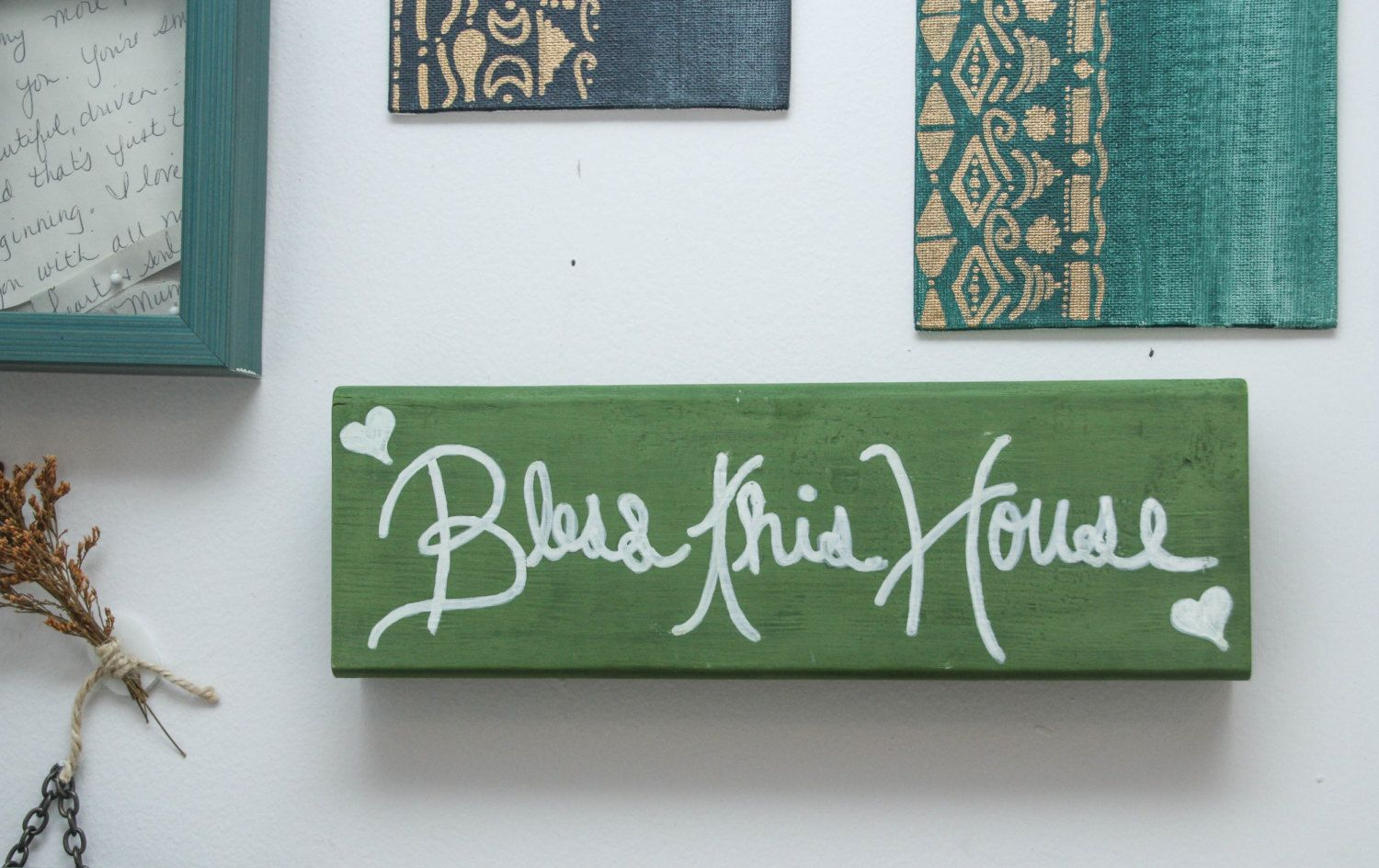 Bless This House Sign Home Decor Signs