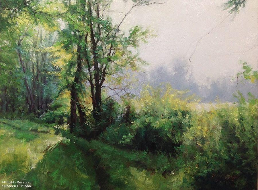 Doreen St. John - Portfolio of Works: Studio