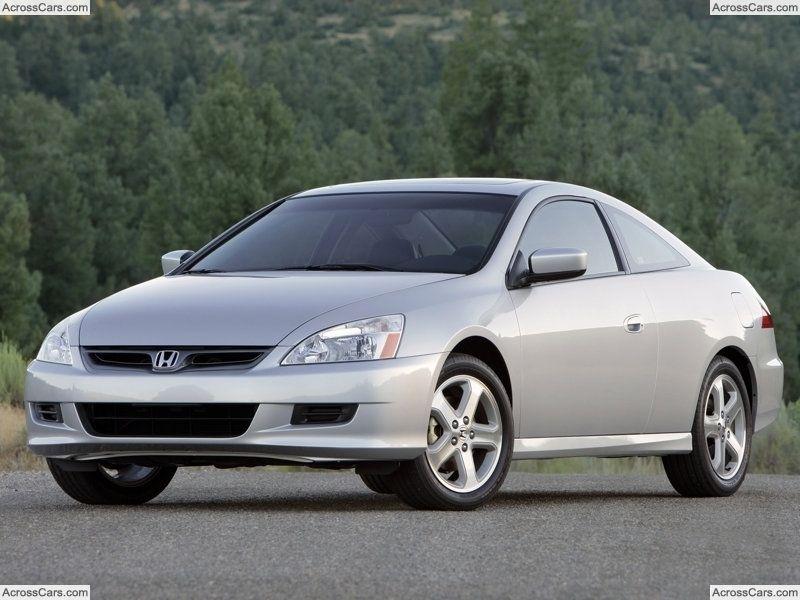 Honda Accord Coupe Ex L 2007