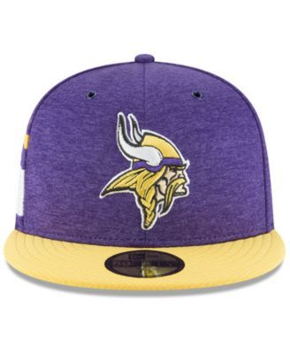 how to buy good out x latest discount New Era Minnesota Vikings On Field Sideline Home 59FIFTY Fitted ...