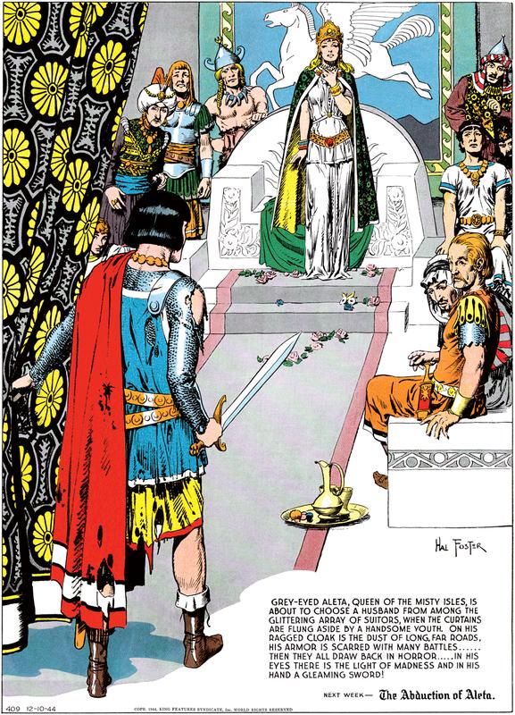 Feature Spotlight: Prince Valiant : Blog | Comics Kingdom