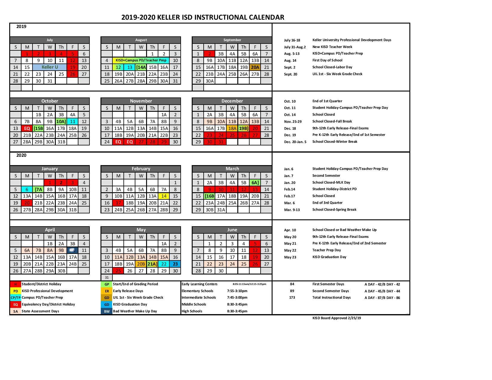 Pin By Calendar On Academic Calendar In 2019 School Calendar
