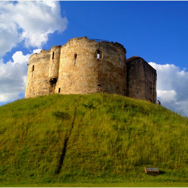 Clifford's Tower, York, Yorkshire, England