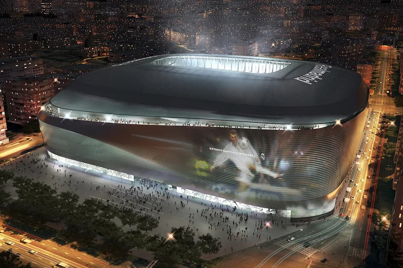 Real Madrid Shares A Rendering Of Its Santiago Bernabéu Stadium Santiago Bernabéu Stadium Real Madrid Madrid