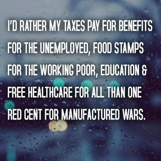 Where do you want your tax dollars to go?