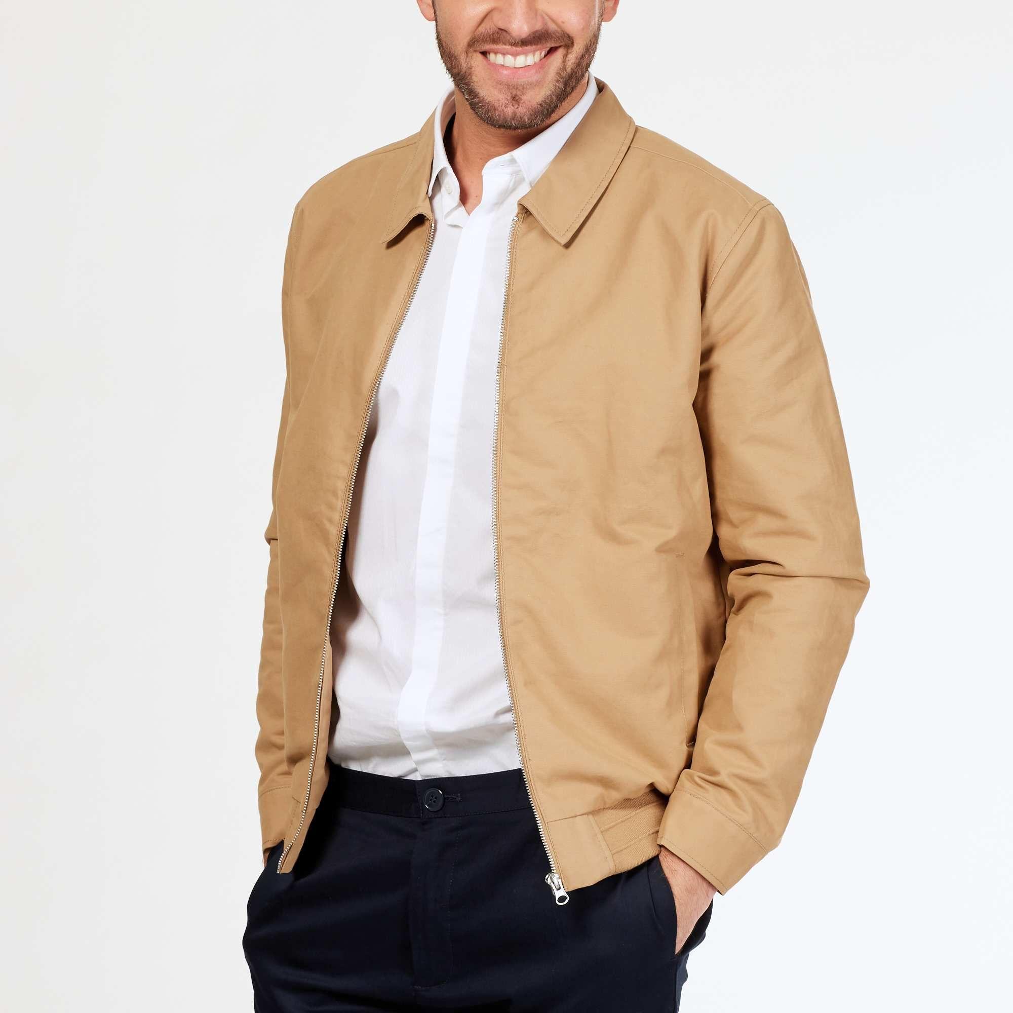 Blouson léger en coton Homme - Kiabi - 30,00€