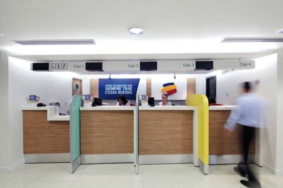 banco_columbia_teller_line | JCT | Pinterest | Medical office ...