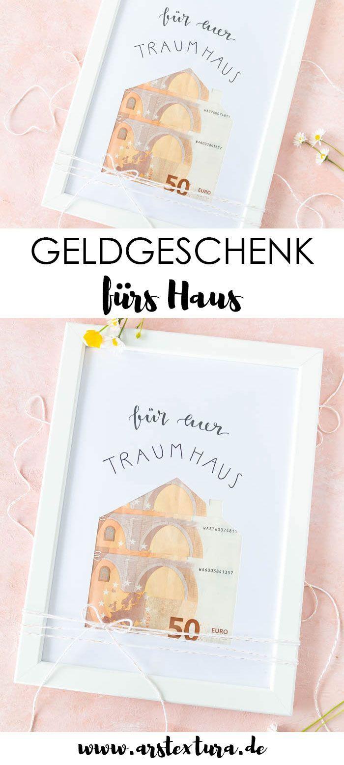 Photo of Einfaches Haus-Geldgeschenk zur Hochzeit | ars textura – Blog fai-da-te