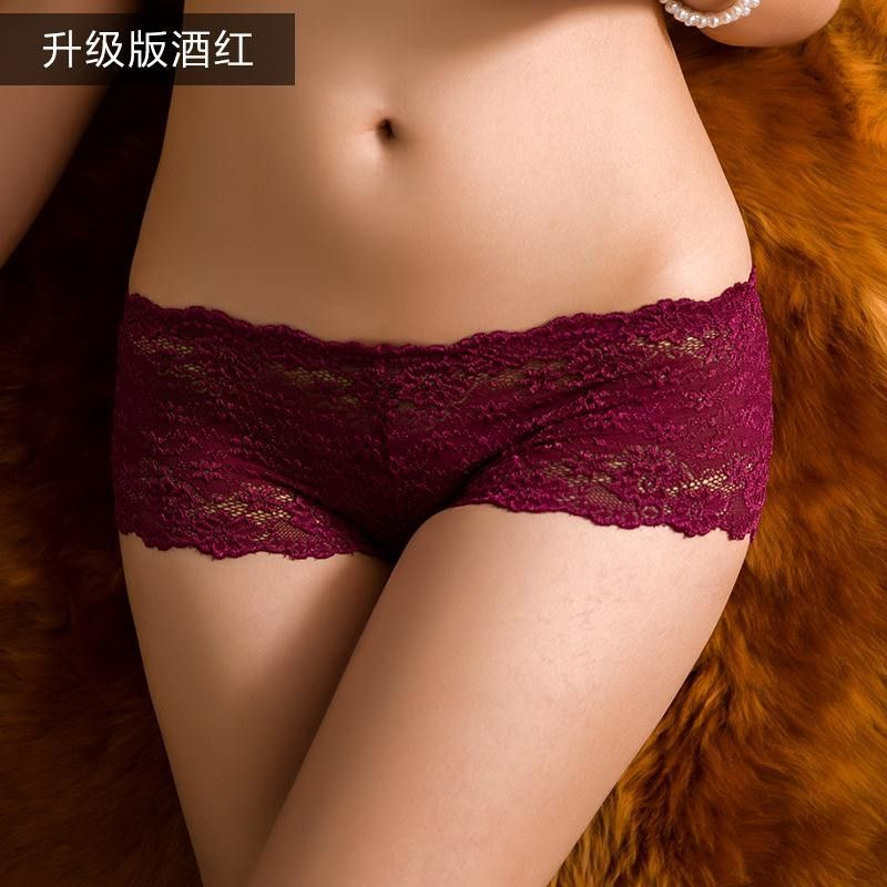 Good Quality Women Sexy Transparent Full Lace Panties Brand Water ...