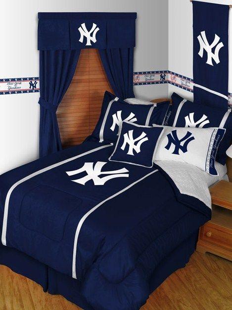 Ny Yankees Room Decor Yankee Bedroom Yankee Room Ny Yankees Room