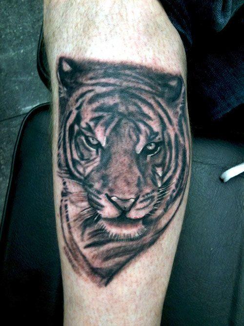White Tiger Head Tattoo Designs Tattoo Pinterest Tiger Head